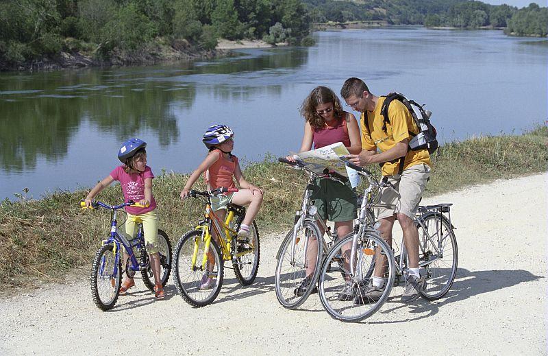 La Loire à vélo, le Cher à vélo, l'Indre à vélo